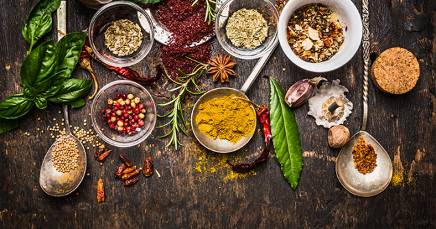Food: Herbs, Spices and Condiments