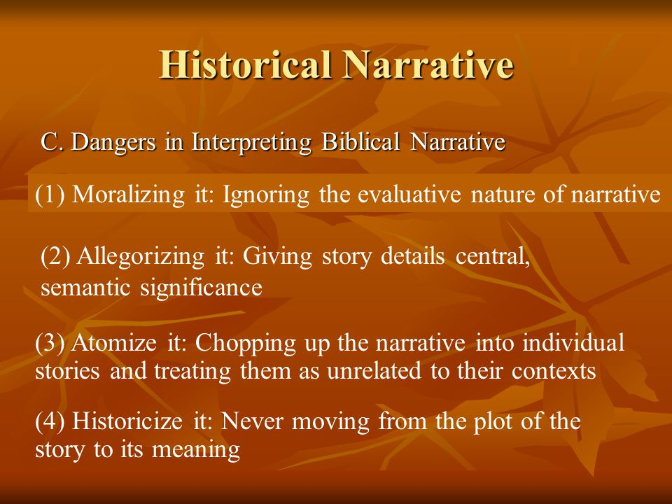4. Narrative Writing: Historical Narrative